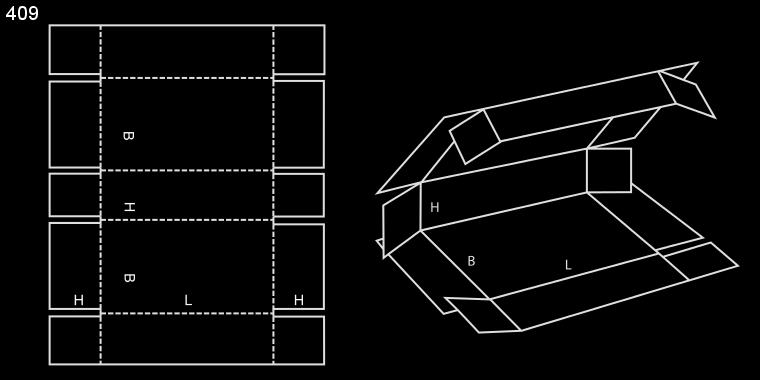 pudło fefco 409