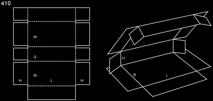 pudło fefco 410