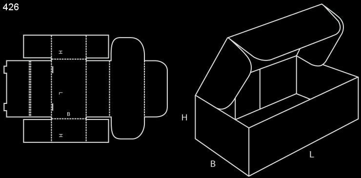 karton fasonowy fefco 426