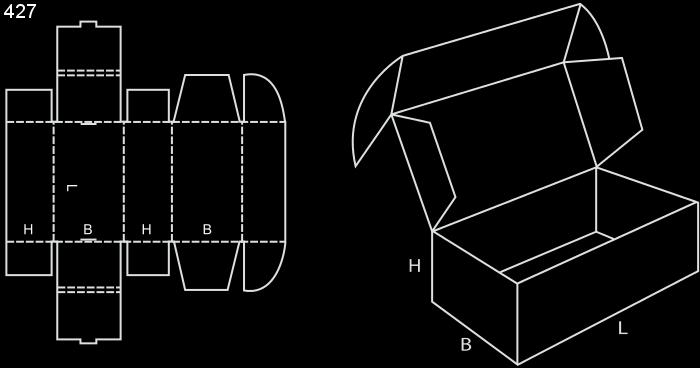 karton fasonowy fefco 427