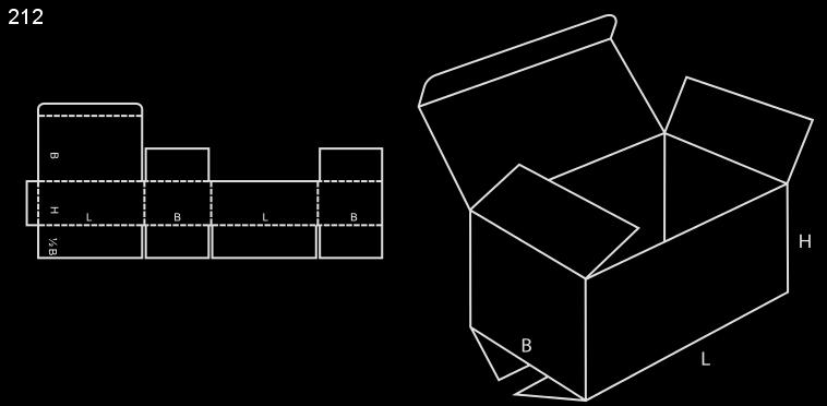 karton klapowy fefco 212