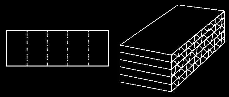 wypełnienie kartonowe, wkład wzmacniający z tektury