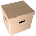 karton fasonowy z wieczkiem