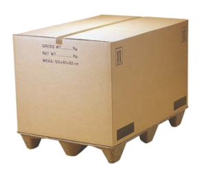 karton paletowy klapowy f200 pokrywa z nadrukiem