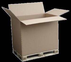karton paletowy klapowy otwarty f201