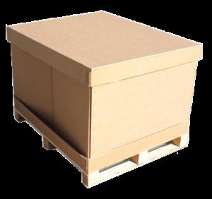 karton paletowy obwoluta składana dno wieko zszyty