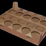 karton fasonowy tacka na kubki